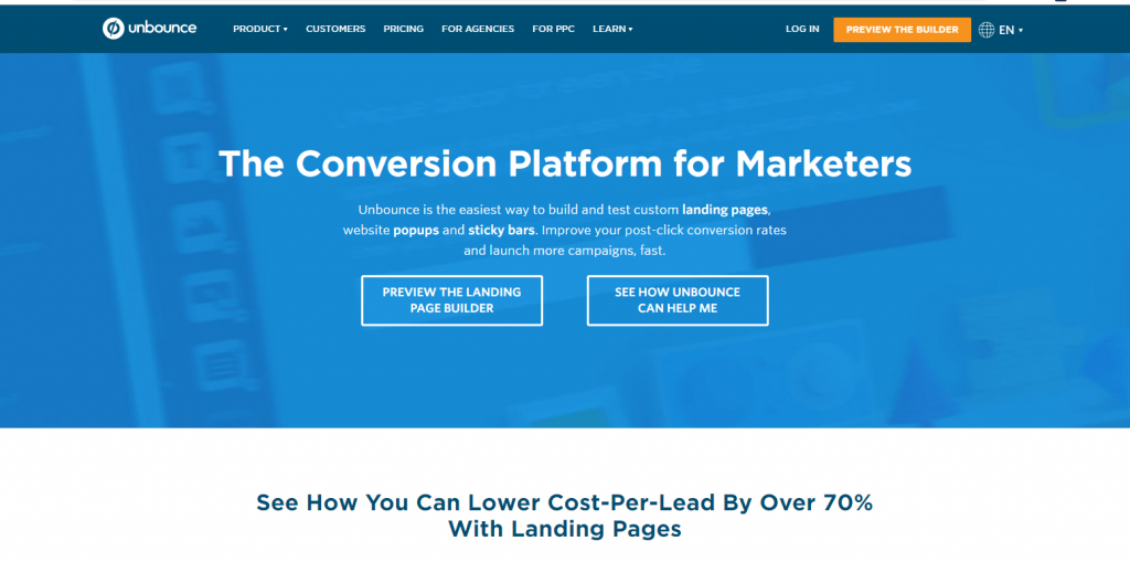 unbounce - conversion optimization blogs