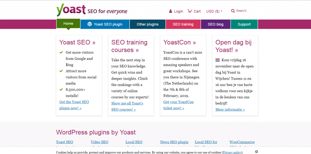 Yoast - SEO blogs